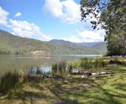 Lake William Hovell in the King Valley Victoria