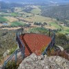 Powers Lookout in the Victorian King Valley